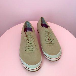 Clarks Beige and Tan Sneaker